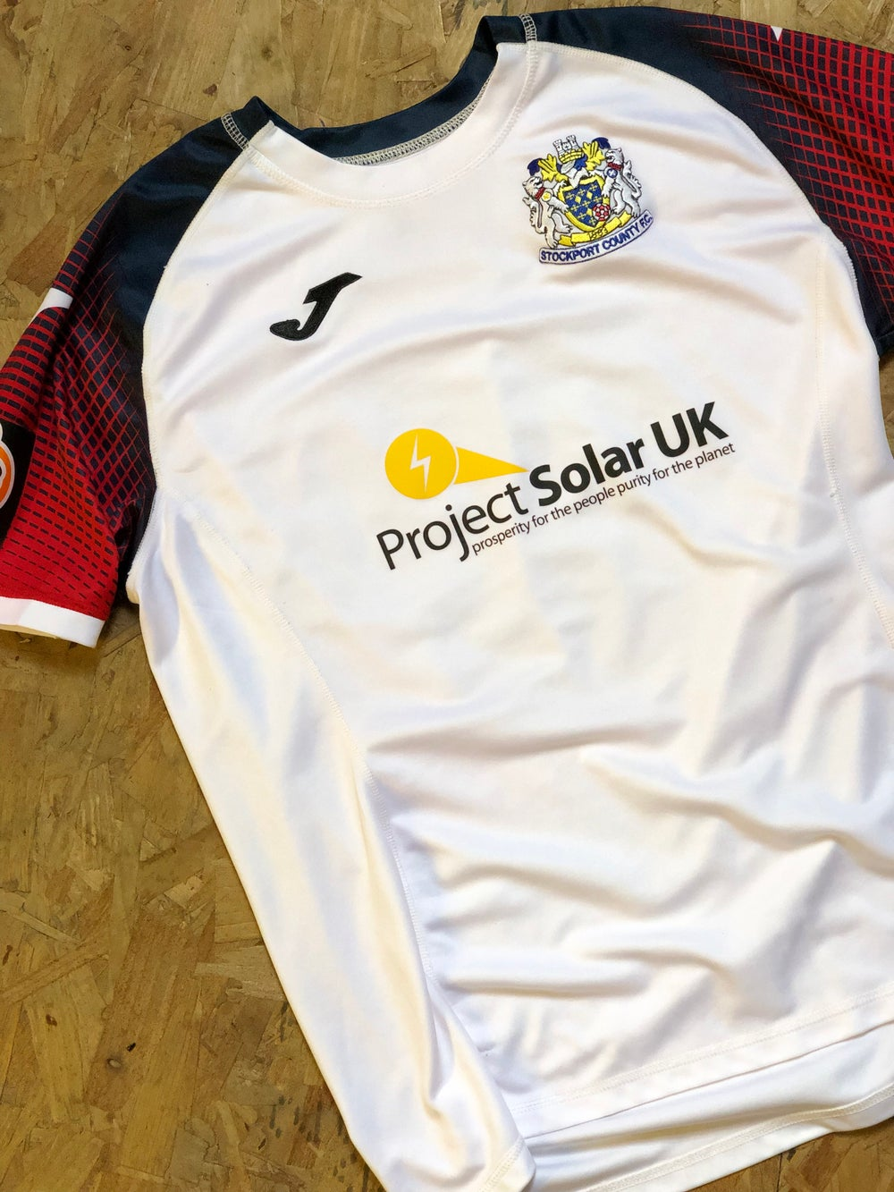 Image of Match Worn 2018/19 Joma Away Shirt