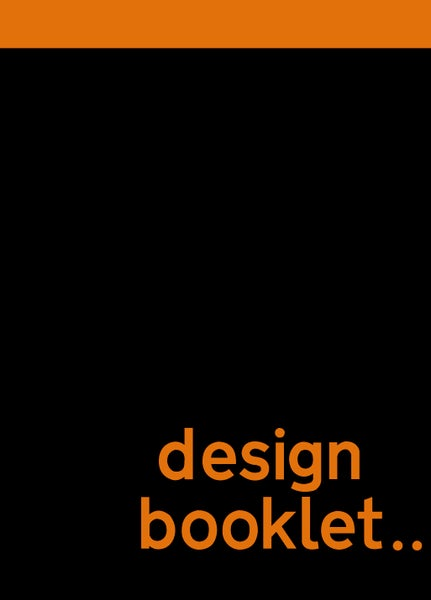Image of design booklet