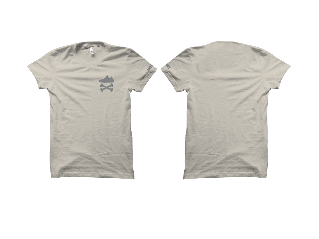 """Image of YEEZY CROSSBONES """"LUNDMARK"""" EMBROIDERY T-SHIRT & DAD HAT"""