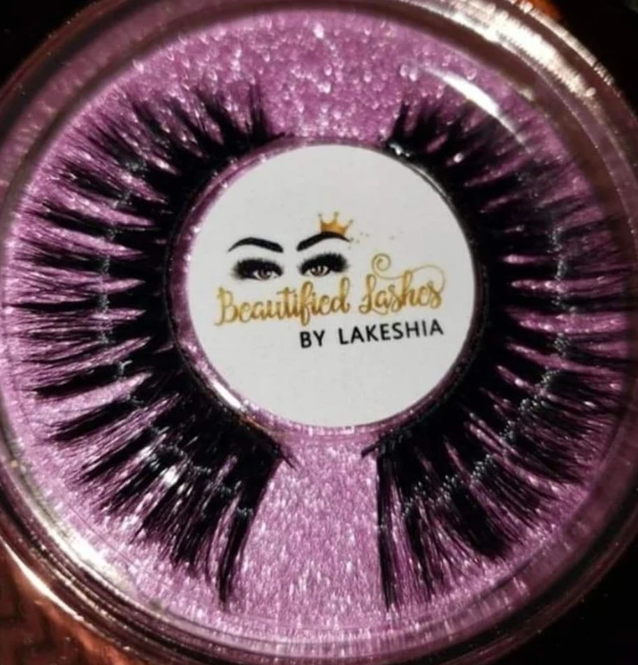 Image of Beautified Lashes- Mrs Royalty