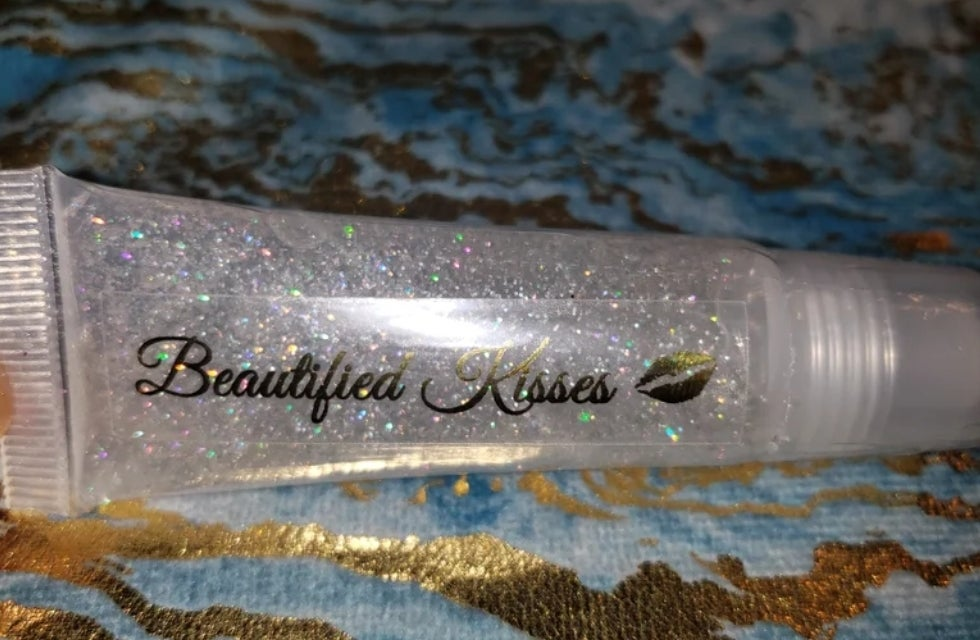 Image of Beautified Kisses Lip Gloss- Crystal Clear