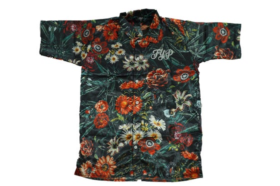 Image of Floral Button Up