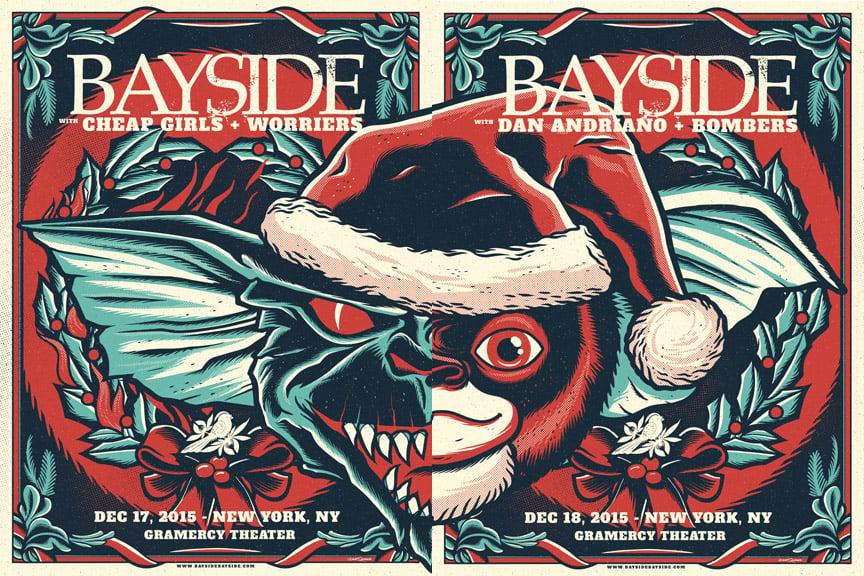 Image of Bayside - Gremlins - Screenprint