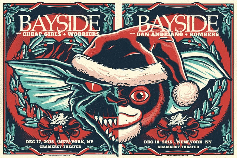 Image of Bayside - Gremlins - Screenprint - ONE AVAILABLE
