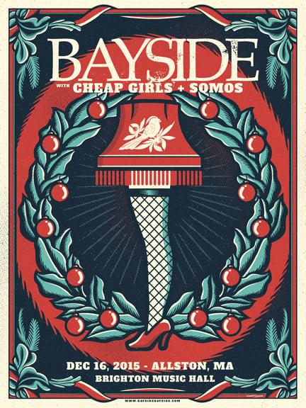 Image of Bayside - LegLamp - Screenprint