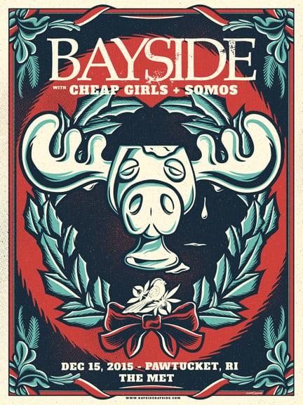 Image of Bayside - MooseMug - Screenprint