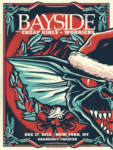Image of Bayside - Gremlins (LEFT) - Screenprint