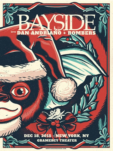 Image of Bayside - Gremlins (RIGHT) - Screenprint