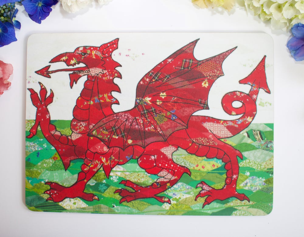 Image of Welsh Dragon Table-mat