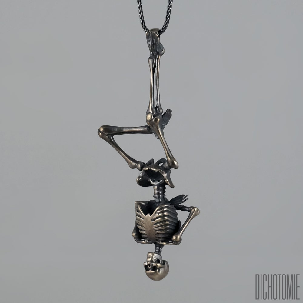 Image of The Hanged Man Pendant // Sterling