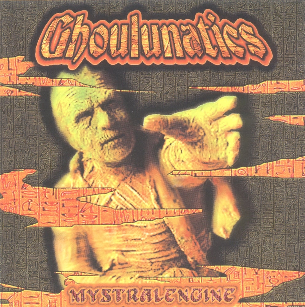 Image of CSC-013 - Ghoulunatics - Mystralengine 25th Anniversary Re-issue Cassette