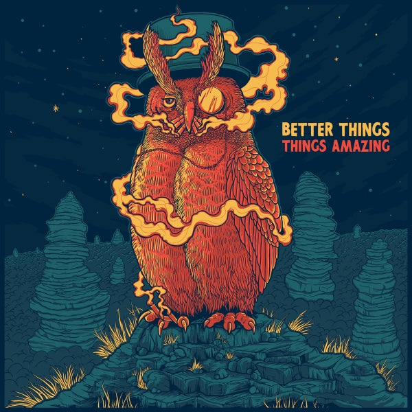 Image of CSC-012 - Things Amazing - Better Things (Deluxe Version) Cassette