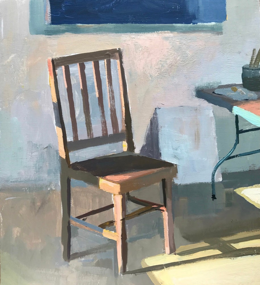 Image of Chair No 4 with warm light