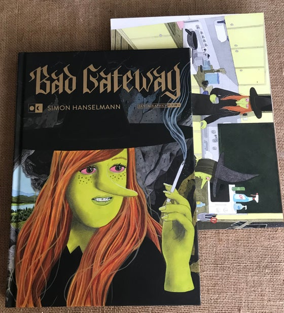 Image of Simon Hanselmann - Bad Gateway DELUXE (Preorder)
