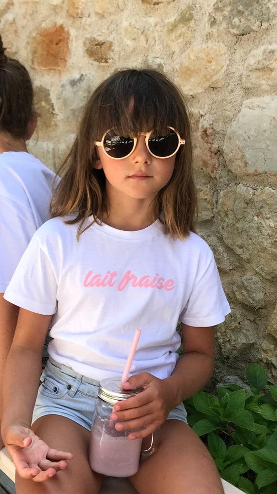Image of Tee Shirt enfant Lait Fraise