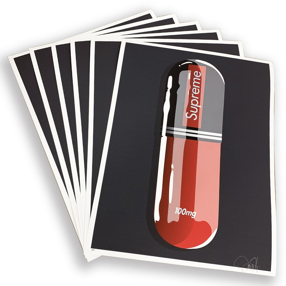 "Image of ""FASION ADDICT REFIL"" SET OF 6 PRINTS - 45CM X 60CM - LTD ED 100"
