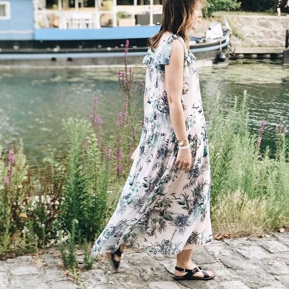 Robe Ella longue - Maison Brunet Paris