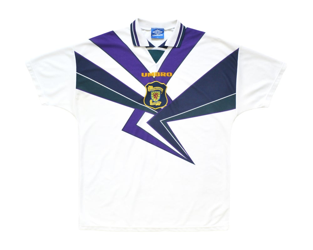 Image of 1994-96 Umbro Scotland Away Shirt XL