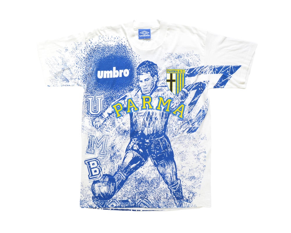 Image of 1993-95 Umbro Parma T-Shirt L