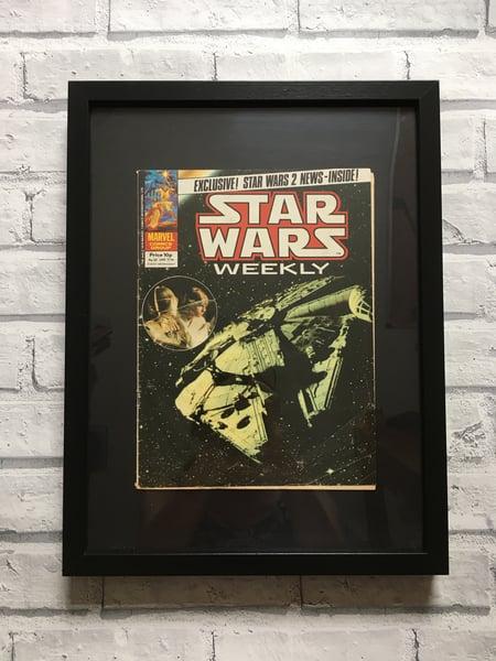 Image of Framed Vintage Comics-Star Wars