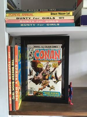 Image of Framed Vintage Comics-Marvel