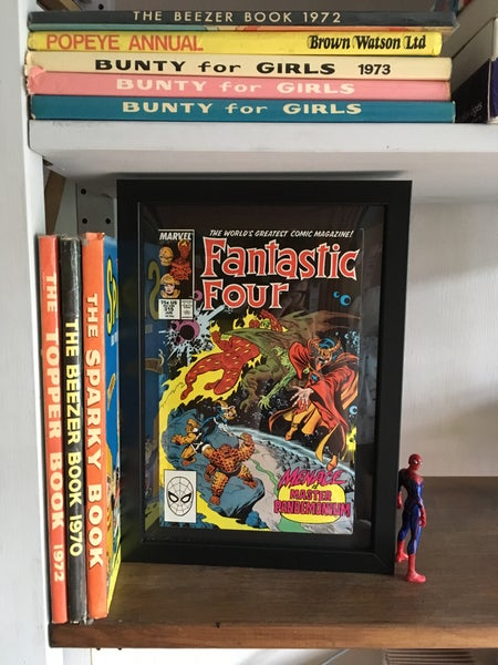 Image of Framed Vintage Comics-Marvel