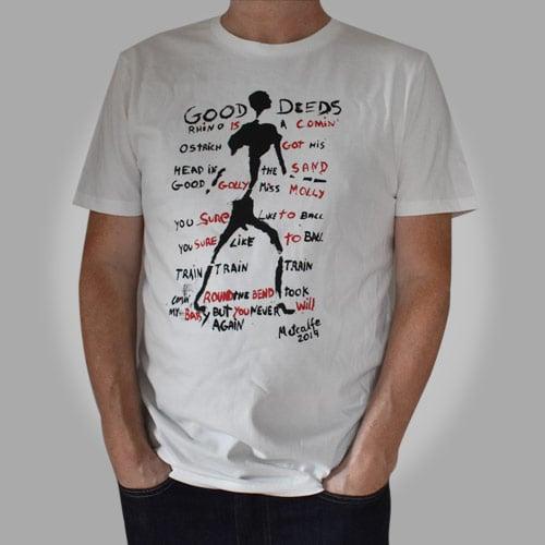 Image of Good Deeds Lyric T-shirt