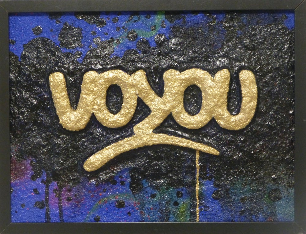 Image of VOYOU !  GOLD Sculpture JP MALOT.