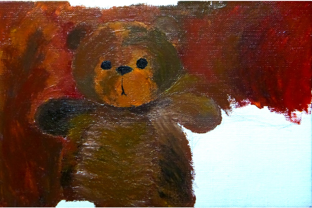 Image of Teddy Bear (Unfinished)