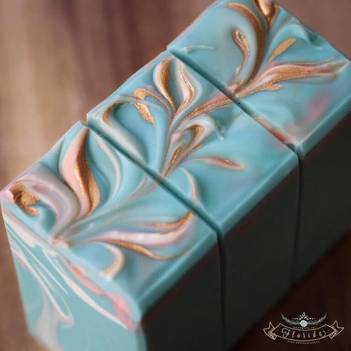 Image of Flamingo Cold Process Soap