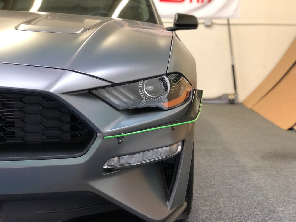 "Image of 2018-2019 Ford Mustang ""V1"" Canards"