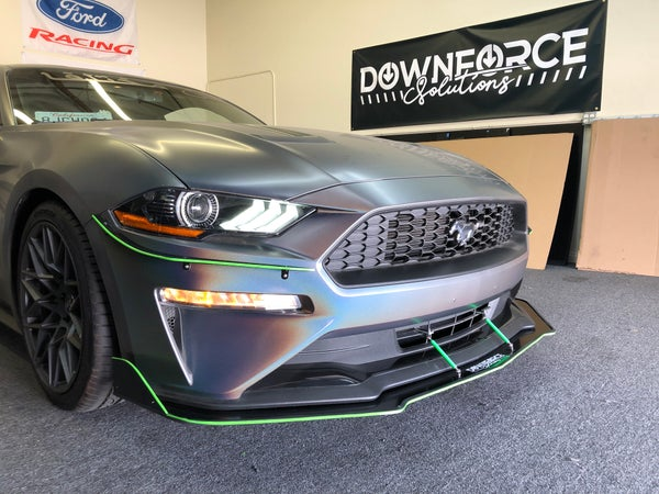 "Image of 2015-2021 Ford Mustang s550 ""V2"" splitter"