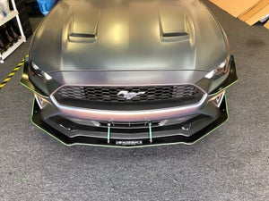 "Image of 2018-2019 Ford Mustang s550 ""V2"" splitter"