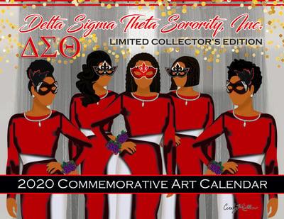 Image of DST Art Calendar 2020 (Delta Sigma Theta Sorority, Inc. Limited Edition Calendar)