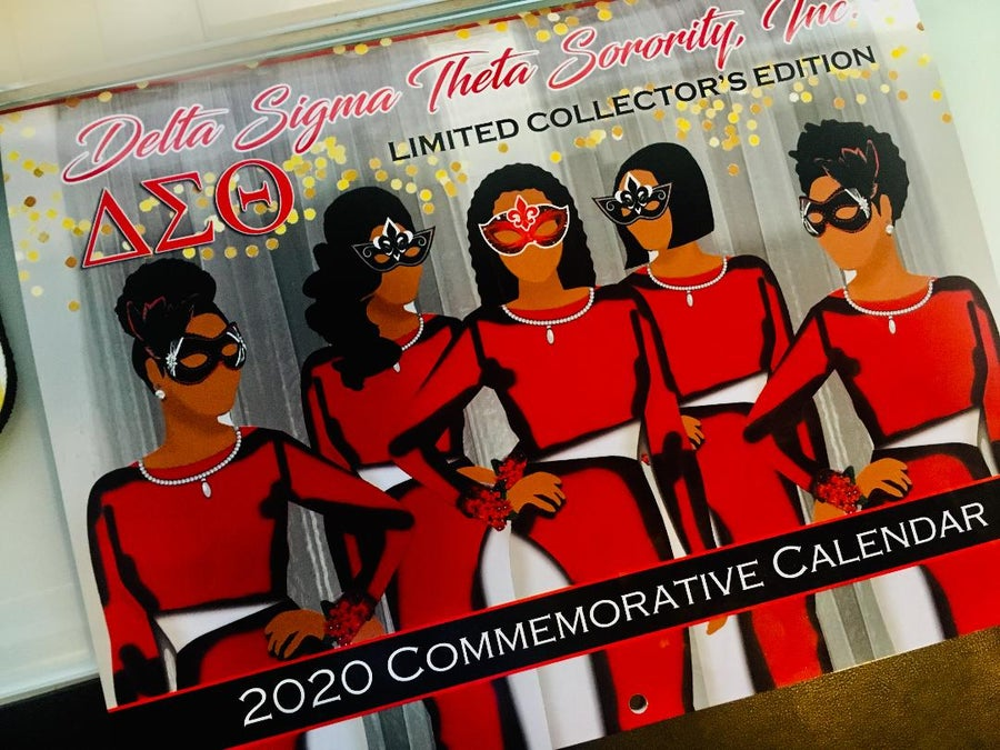 Image of DST Art Calendar 2020 (Delta Sigma Theta Sorority, Inc. Limited Edition Calendar)