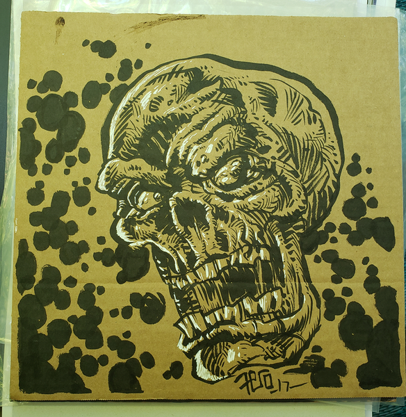 Image of Original Art - An Skull