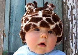 Image of Giraffe Hat