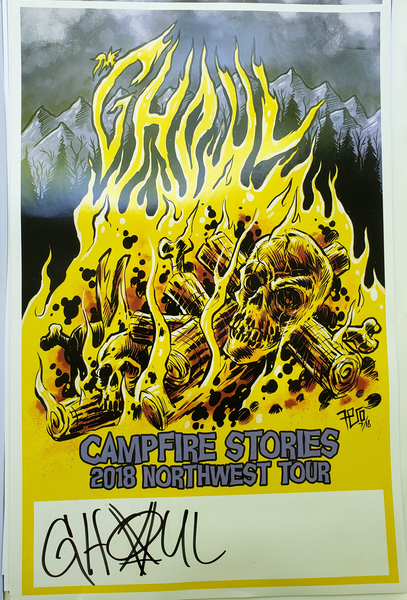 Image of The Ghoul- Campfire Stories poster