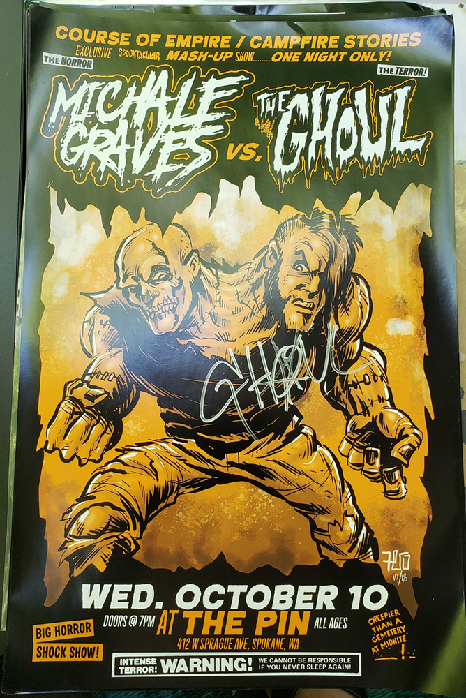 Image of Michale Graves / The Ghoul poster
