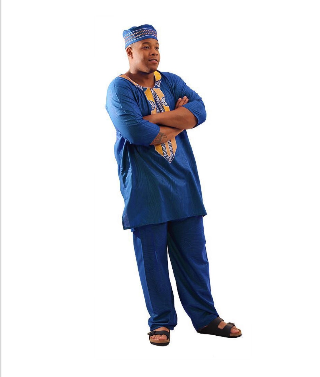 Image of Regal African Pant Set