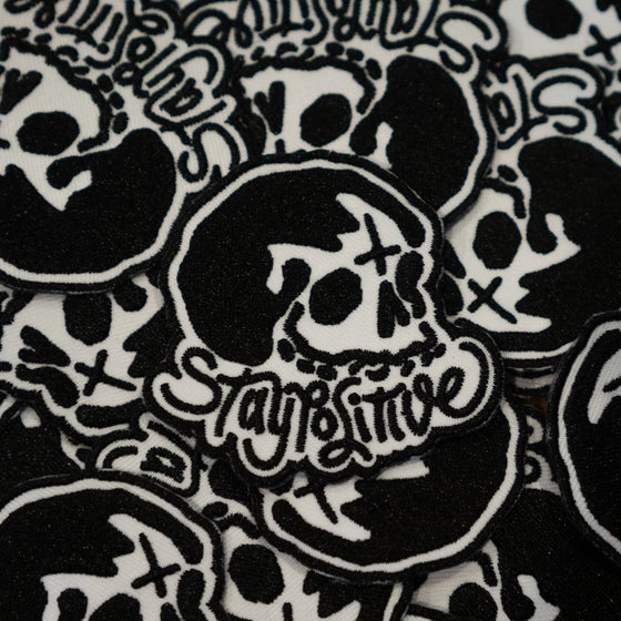 """Image of """"Stay Positive"""" patch"""