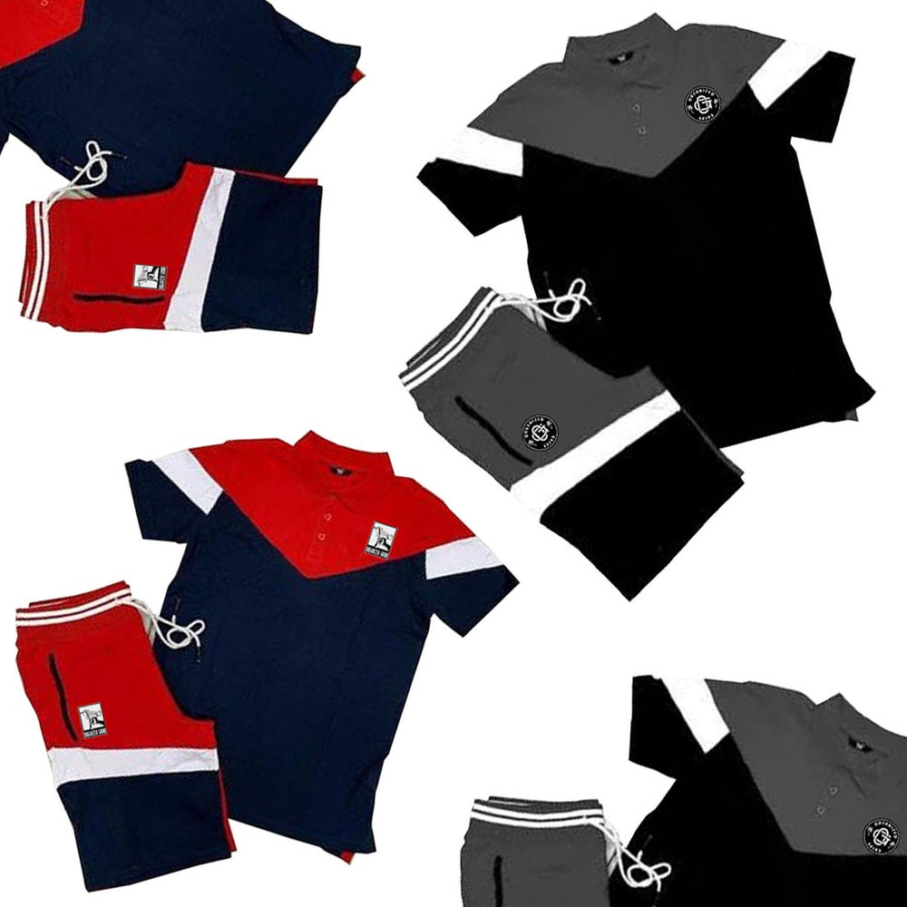Image of Uzi Polo/Shorts Set