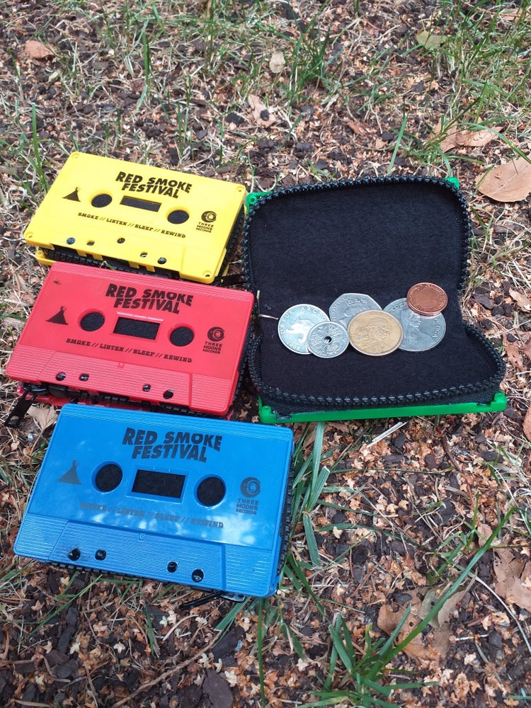 Image of CASSETTE WALLET / RED SMOKE FESTIVAL