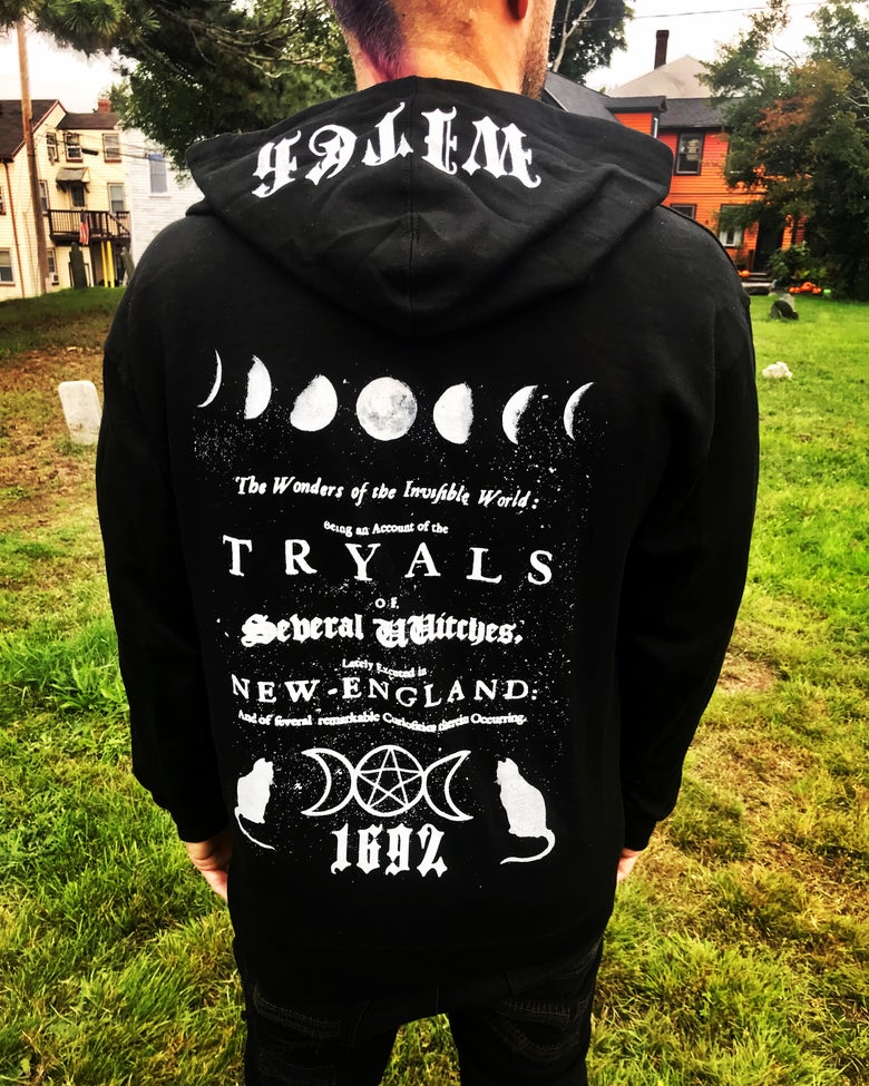 Image of Witch Tryals Zip Up Hoodie