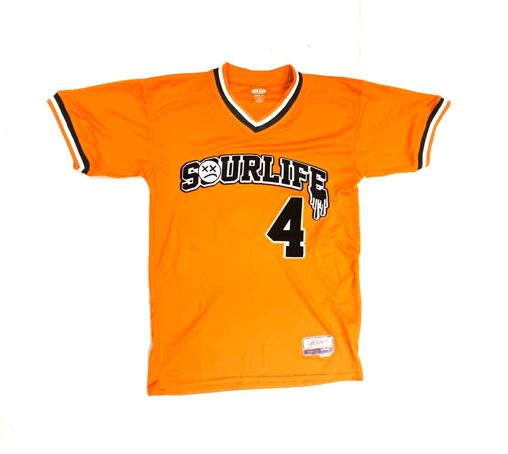 Image of SourLife Vintage Baseball Jersey