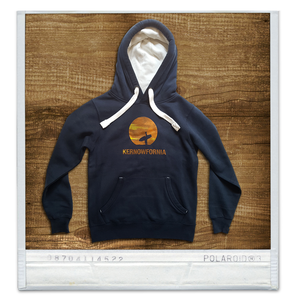 Image of Mens - Sunspot hoodie (Navy, black)