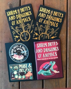 Image of Words, Notes and Drawings of Animals