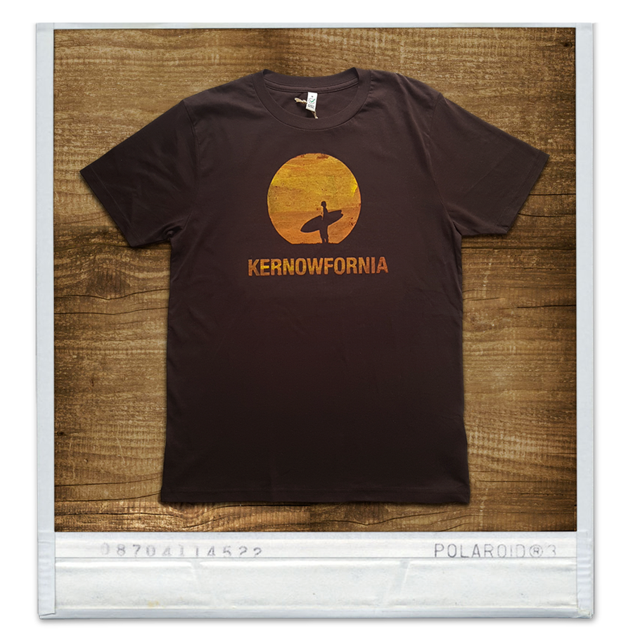 Image of Mens/Unisex - Sunspot T-shirt (Navy or brown)