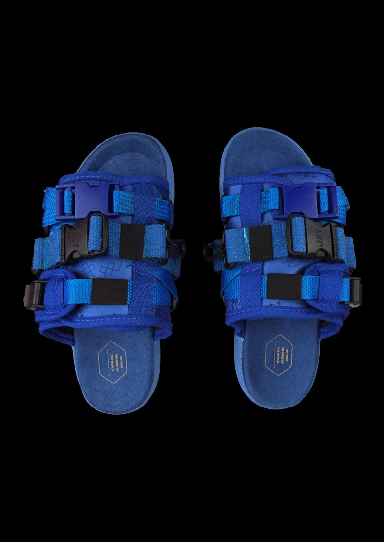 Image of BLUE CARGO SANDAL