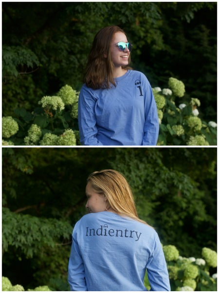 Image of Blue Indientry T-Shirt
